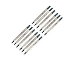 Parker Roller Ball Pen Refill Fine Black x 12 - $19.31