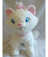 "Disney Store Exclusive Marie Aristocats White Cat 13"" Tall Plush Stuffed Animal - $10.51"