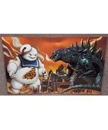 Godzilla vs Stay Puft Marshmallow Man Glossy Pr... - $24.99