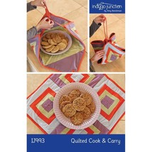 Indygo Junction Pattern Quilted Cook & Carry IJ993 - $10.90