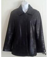 Vintage Ladies Women's Coach Classic Black Leat... - $85.00