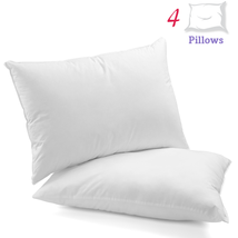 Homien Hotel Collection Pillows, Bed Pillows, Standard Size - Pack of 4 - $46.99
