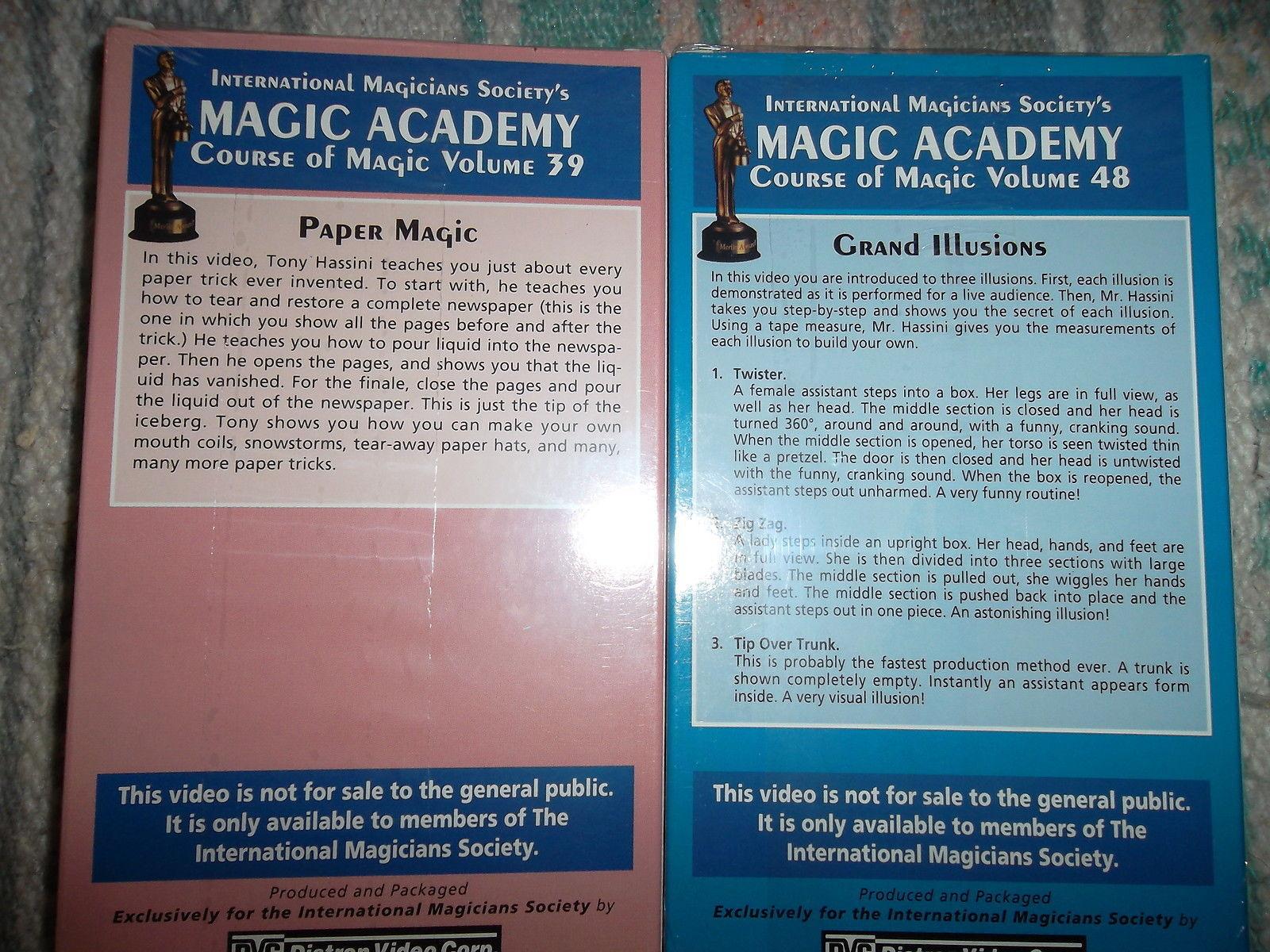 Magic Tapes - 8 IMS Magic Instructional VHS and 50 similar items