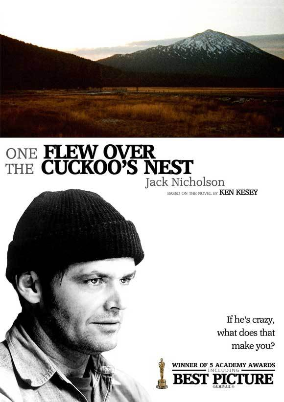 One flew over the cuckoos nest movie poster 1975 27x40