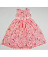 RARE EDITIONS GIRL 6 DRESS PINK SEQUINS SPECIAL OCCASION EASTER PORTRAIT... - $24.39