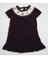 GYMBOREE GIRLS SIZE 18M 24M  SWEATER DRESS PUPS & KISSES YORKIE PUPPY DO... - $15.98
