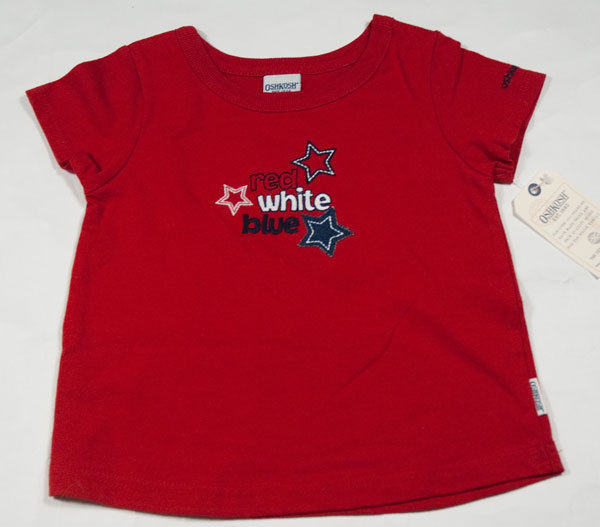 3ddd31944cb t2ec16f yue9s6neg6tbq3klngmiq 60 57. t2ec16f yue9s6neg6tbq3klngmiq 60 57. OSHKOSH  GIRLS 24M TOP NWT RED WHITE   BLUE STARS PATRIOTIC FOURTH OF JULY SHIRT