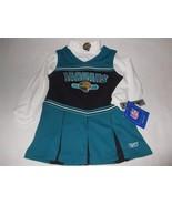 NFL Jacksonville Jaguars Child 3T Cheerleader Reebok Halloween Costume 2... - $23.99