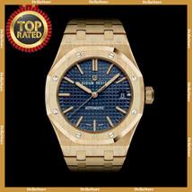 DIDUN Men Watch Automatic Luxury Top Brand Steel Army Military Sapphire ... - £97.90 GBP