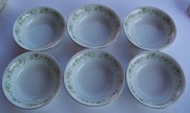"Johann Haviland Bavaria Germany""Forever Spring"" Berry/ Fruit Bowls (6) EXC - $24.00"