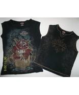 2 pc Womens Harley-Davidson Embellished Size M ... - $16.99