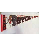 Chicago Bulls Pennant - Scotty Pippen Cartoon Graphic - 1990s - $55.00