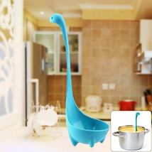 1pc Kitchen Supplies Dinosaur Spoons Soup Loch Ness Ladle Long Handle Spoon image 4