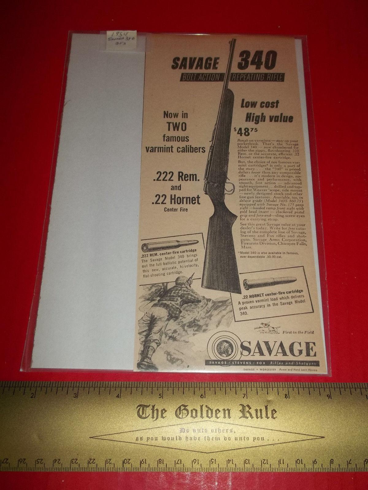 Home Treasure Paper Decor 1954 Savage 340 and 50 similar items