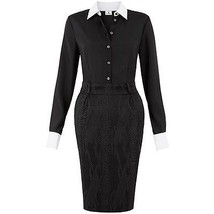 NEW! ALTUZARRA Fashion Glam Career Shirt Dress ... - $37.47