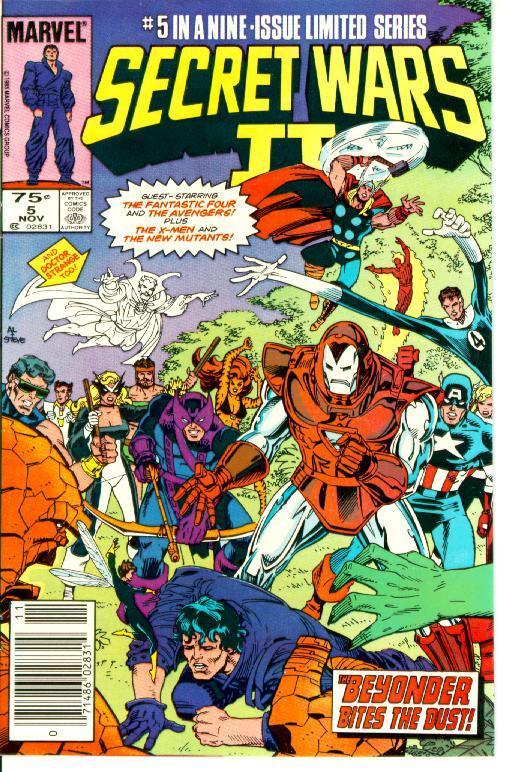 Marvel Comics The New Mutants Comic Book #33 1985 NEAR MINT  NEW UNREAD