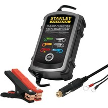 STANLEY BC8S 8-Amp FATMAX Battery Charger/Maintainer - $64.57