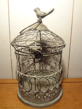 Decorative Metal Birdcage (white) - $12.11