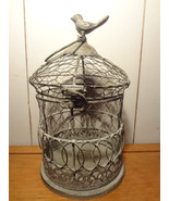 Decorative Metal Birdcage (white) - $12.11