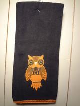 Black Owl Kitchen Towel - $5.46