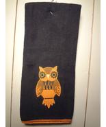 Black Owl Kitchen Towel - $7.80
