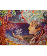 """Snowflake""  by Josephine Wall 500pc.Glow Puzzle - $19.20"