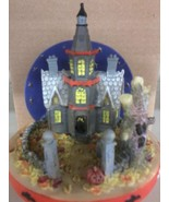 Haunted House Candle Jar Topper - $8.75