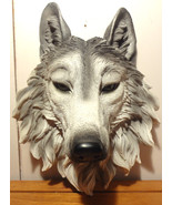 Wolf Face Wall Plaque - $18.81