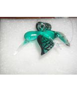 Glass Hummingbird Ornament (Teal) - $6.79