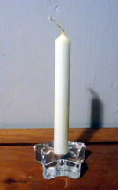 Star Spell Candle Holder with candle - $3.47