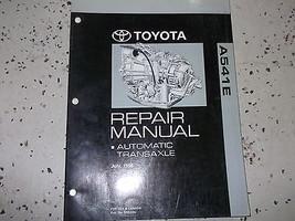 2001 01 Toyota Camry Automatic Transaxle Service Shop Repair Manual A541 E A 541  - $92.39