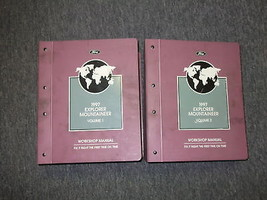 1997 Ford Explorer & Mercury Mountaineer Service Shop Repair Manual Set ... - $217.75