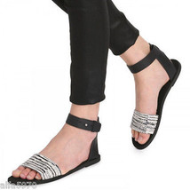 VINCE SAWYER LEATHER SANDALS - NEW - SIZE US 10 - $103.95