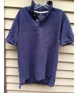Men's FADED GLORY Dark Blue Medium Polo Shirt - $11.38