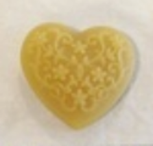 Lace Heart Thread Waxer 100% beeswax thread detangler Lady Dot Creates  - $5.00