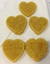 Sweethearts Thread Waxer 100% beeswax thread detangler Lady Dot Creates  - $5.50