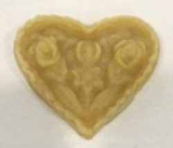 Fractur Heart Thread Waxer 100% beeswax thread detangler Lady Dot Creates  - $5.00