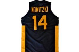 Dirk Nowitzki #14 Team Deutschland Germany Basketball Jersey Black Any Size image 5