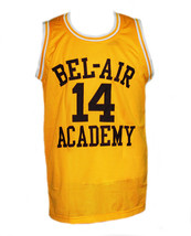 Will Smith #14 The Fresh Prince Of Bel-Air Basketball Jersey Yellow - Any Size image 4