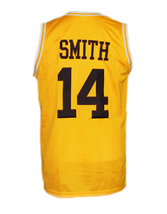 Will Smith #14 The Fresh Prince Of Bel-Air Basketball Jersey Yellow Any Size image 5
