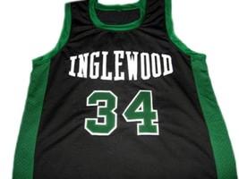 Paul Pierce #34 Inglewood High School Basketball Jersey Black Any Size image 4
