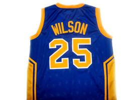 Ben Wilson #25 Simeon High School Basketball Jersey Blue Any Size image 5