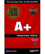 A+ Practice Test Exam Cram by Michael Pastore and Certification Insider ... - $6.95