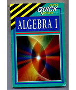 Algebra I by Cliffs Notes Staff (1994, Paperback) - $5.65