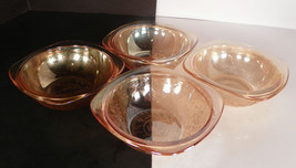 """Jeannette Glass Floragold """"Louisa"""" Square Bowls - $13.86"""