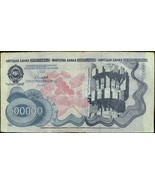 YUGOSLAVIA BANKNOTE - INFLATION - 500000 DINARA - YEAR 1989 - MONUMENTS ... - $8.00