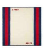 """NWT GUCCI web  silk modal extra large scarf shawl 51"""" x 51""""; Rtl $445 - $290.07"""