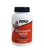 NOW Foods Glucosamine Sulfate (Superior Joint Support) 750 mg., 120 Caps... - $15.29