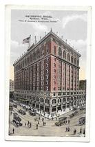 WA Davenport Hotel Spokane Washington Vintage Postcard Posted 1917 - $4.99