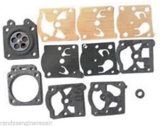 Primary image for D22-WAT Walbro Carburetor Diaphragm & Gasket Kit for McCulloch MAC 60 85 Trimmer